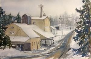 Feed Mill - Walters Falls