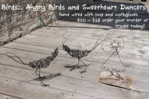 Wire Sculpture for indoor or out~