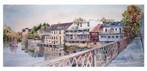 View from the Badley Bridge - Elora